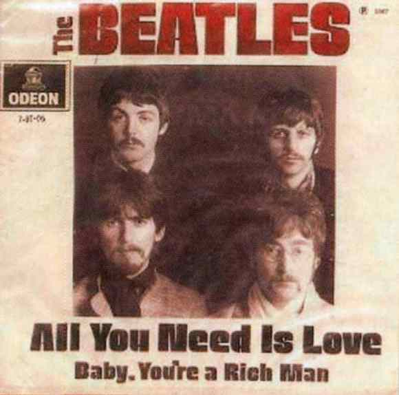 All You Need Is Love single artwork - Brazil