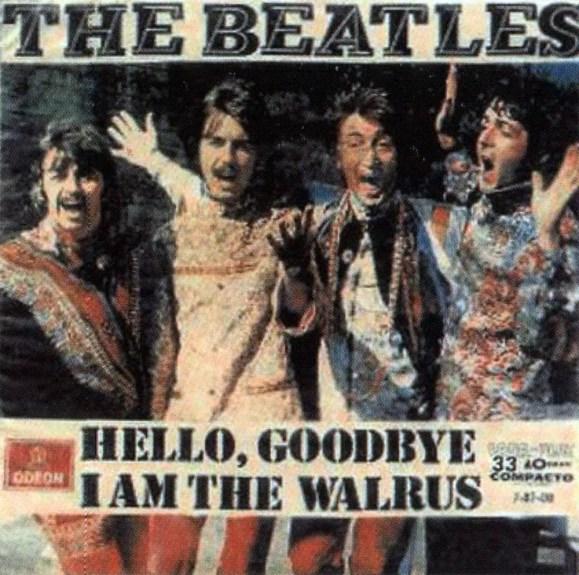 Hello, Goodbye single artwork - Brazil
