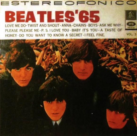 Beatles '65 Vol 3 album artwork - Colombia