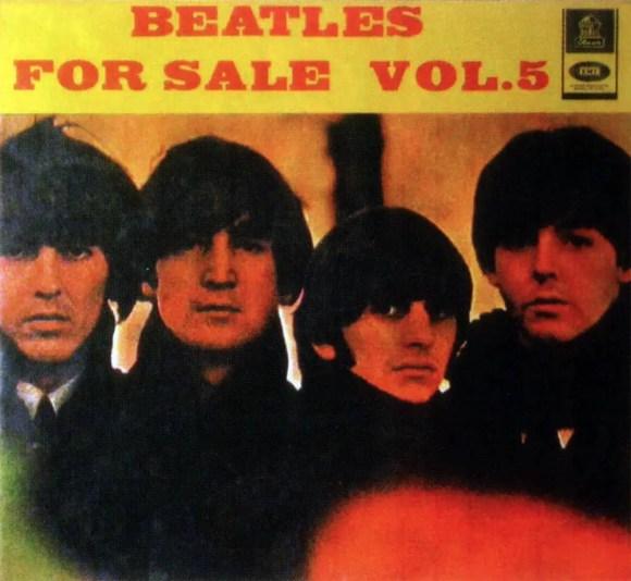 Beatles For Sale Vol 5 album artwork - Colombia