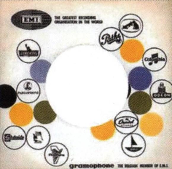 EMI single sleeve, 1966 - Democratic Republic of Congo