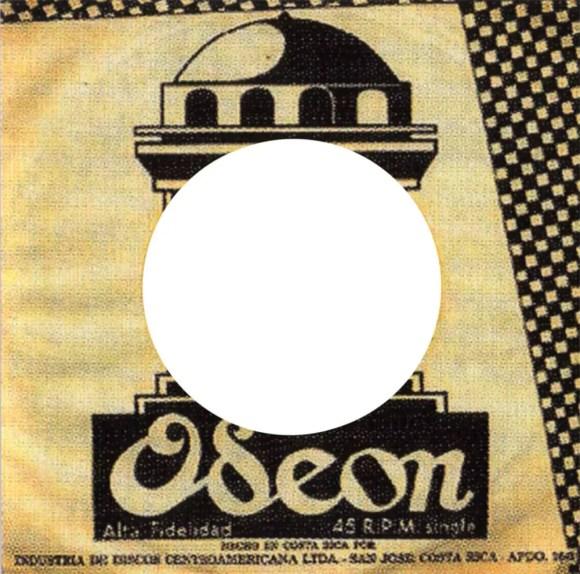Odeon single sleeve - Costa Rica