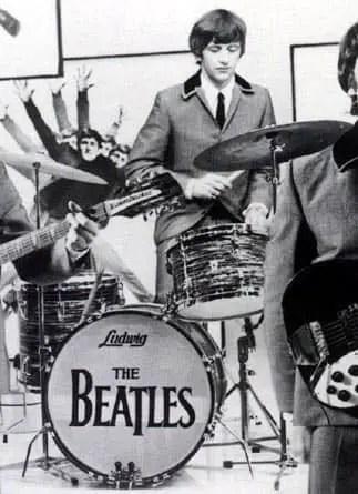 The Beatles' Drop-T logo, number three