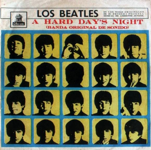 A Hard Day's Night album artwork - Ecuador