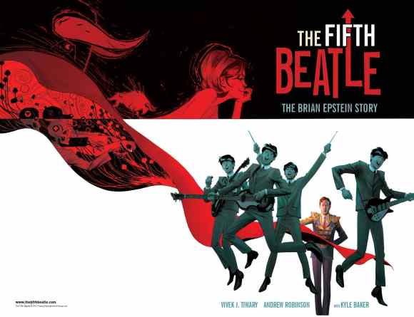 The Fifth Beatle: The Brian Epstein Story by Vivek J Tiwary