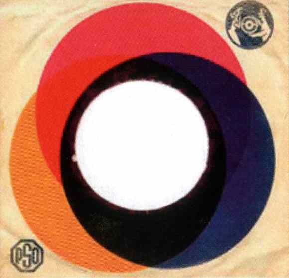 Parlophone single sleeve - Finland