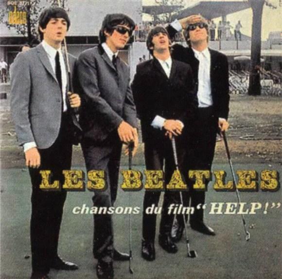 "Chansons Du Film ""Help!"" EP artwork - France"