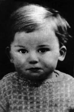 George Harrison as a baby