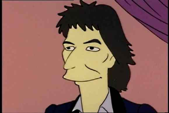 George Harrison in The Simpsons
