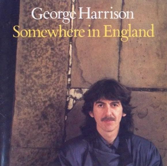 Somewhere In England album artwork - George Harrison