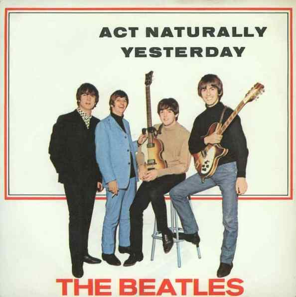 Act Naturally single artwork - Germany