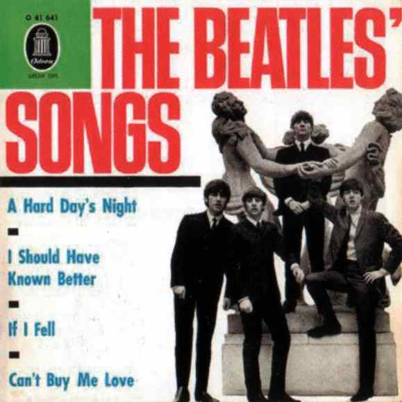 The Beatles' Songs EP artwork - Germany