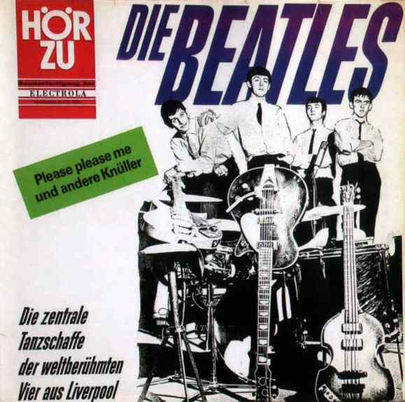 Die Zentrale Tanzchaffe Der Weltberühmten Vier Aus Liverpool (Please Please Me) album artwork - Germany