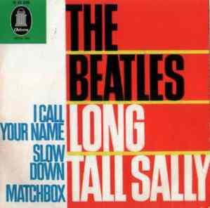 Long Tall Sally EP artwork - Germany