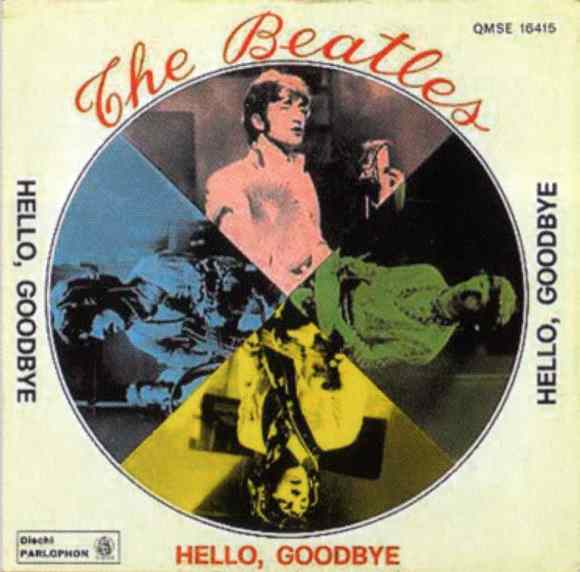 Hello, Goodbye single artwork - Italy