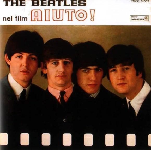The Beatles Nel Film Aiuto! (Help!) album artwork - Italy
