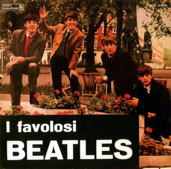 I Favolosi Beatles album artwork - Italy