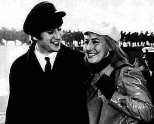 John and Cynthia Lennon, 1964