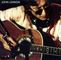 Acoustic album artwork – John Lennon