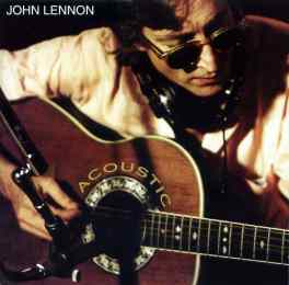 Acoustic album artwork - John Lennon