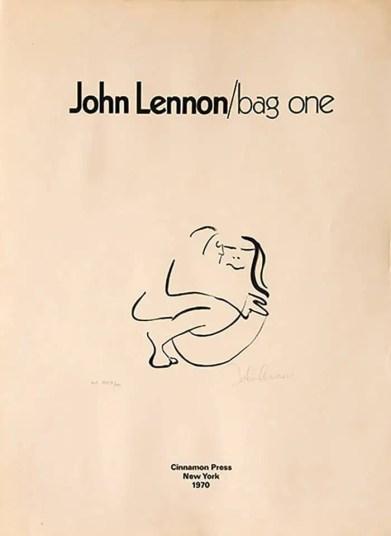 John Lennon: Bag One (1969)