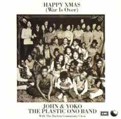 Happy Xmas (War Is Over) single artwork - John Lennon/Yoko Ono/Plastic Ono Band