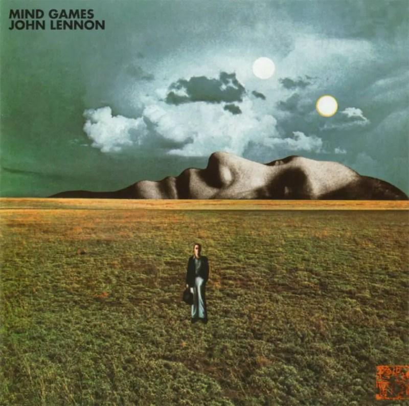 Carátula del álbum Mind Games - John Lennon