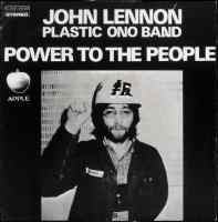 Power To The People single artwork – John Lennon/Plastic Ono Band