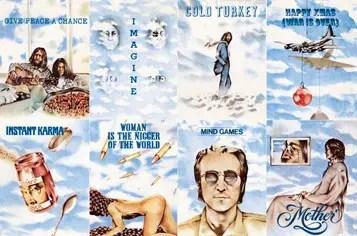 Detail from John Lennon's Shaved Fish album artwork