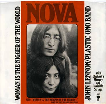 Woman Is The Nigger Of The World single artwork - John Lennon/Plastic Ono Band