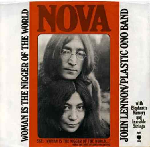 Woman Is The Nigger Of The World single artwork - John Lennon/Plastic Ono Band