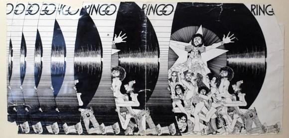 Klaus Voormann's unused illustration for the Ringo album (1973)