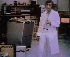 Magic Alex (Alexis Mardas) at Apple Electronics