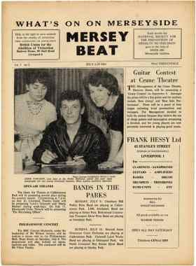Mersey Beat, issue one