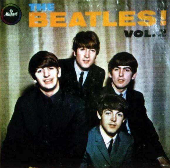 The Beatles Vol. 2 album artwork - Mexico