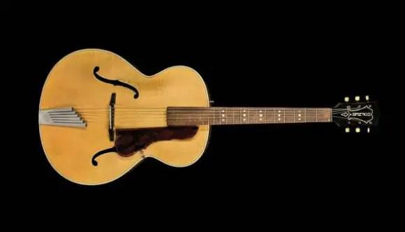 John Lennon's Hofner Senator guitar