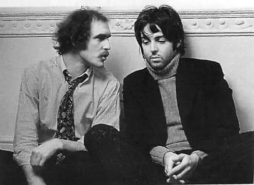 Neil Aspinall and Paul McCartney
