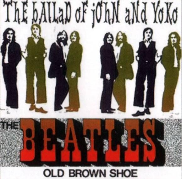 The Ballad Of John And Yoko single artwork - Netherlands