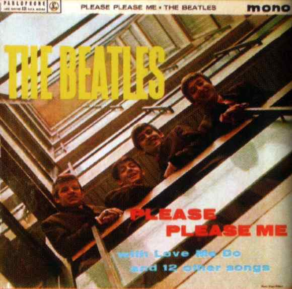 Please Please Me album artwork - Netherlands
