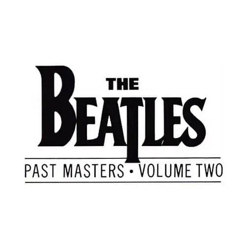 Past Masters Volume Two album artwork