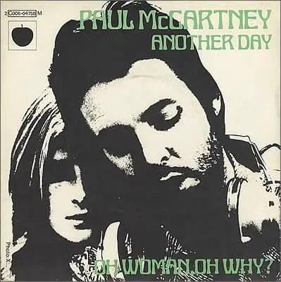 Another Day single artwork - Paul McCartney