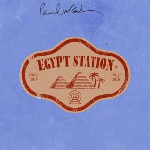 Paul McCartney–Egypt Station promotional artwork