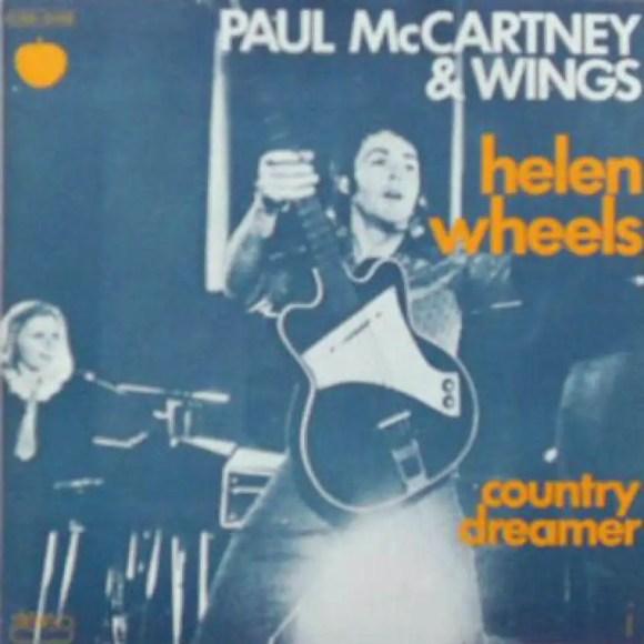 Helen Wheels single artwork - Paul McCartney & Wings