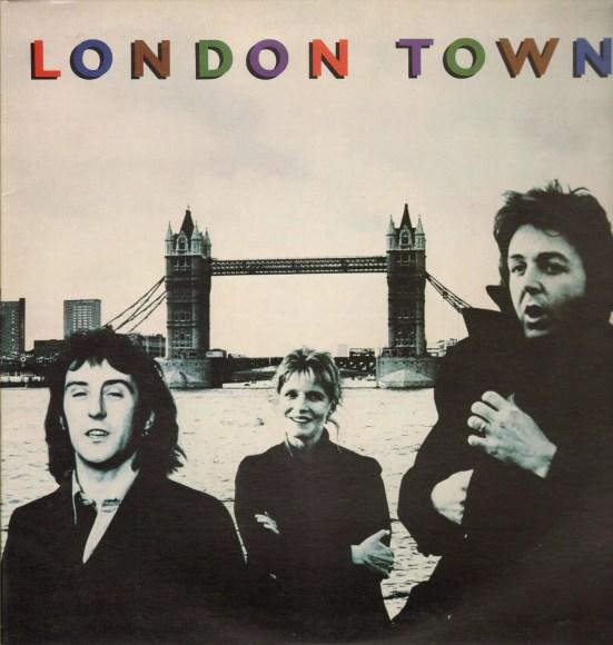 London Town album artwork - Wings