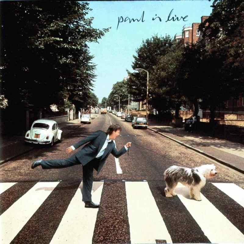Paul Is Live album artwork - Paul McCartney
