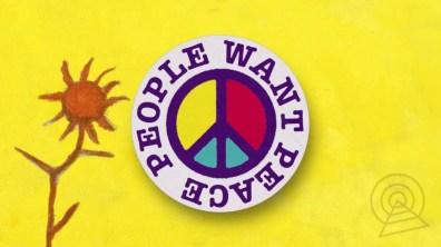 Paul McCartney –People Want Peace artwork