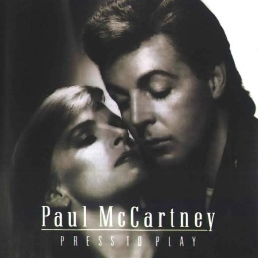 Press To Play album artwork - Paul McCartney