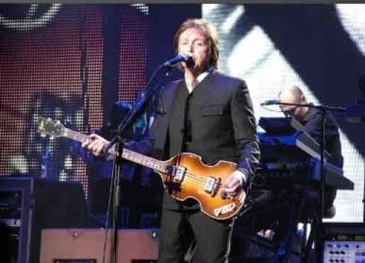 Paul McCartney live