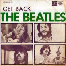 Get Back EP artwork - Portugal