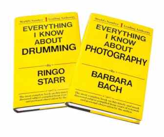 Everything I Know About Drumming by Ringo Starr (blank novelty book)